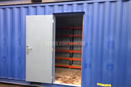 40ft Archive Storage Container Yorkshire