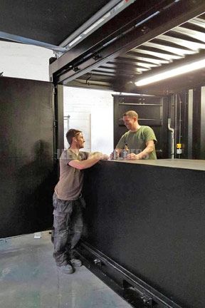 Shipping Container Bar West Yorkshire
