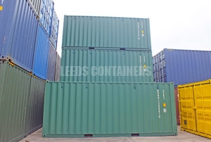 Shipping Container Stock Leeds