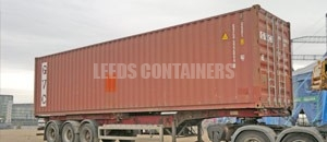 High Cube Specialised Container Leeds